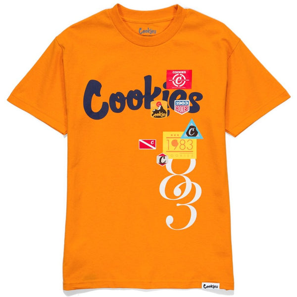 Colores Logo Tee-Orange/Royal