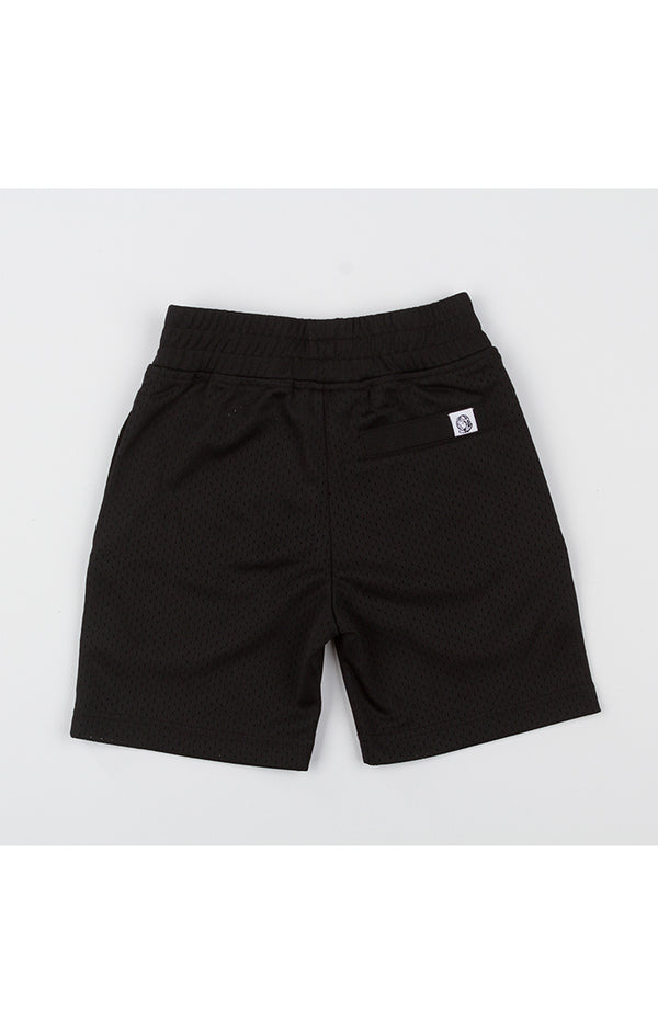 B.B.C Kids-BB Diamond Shorts-Black