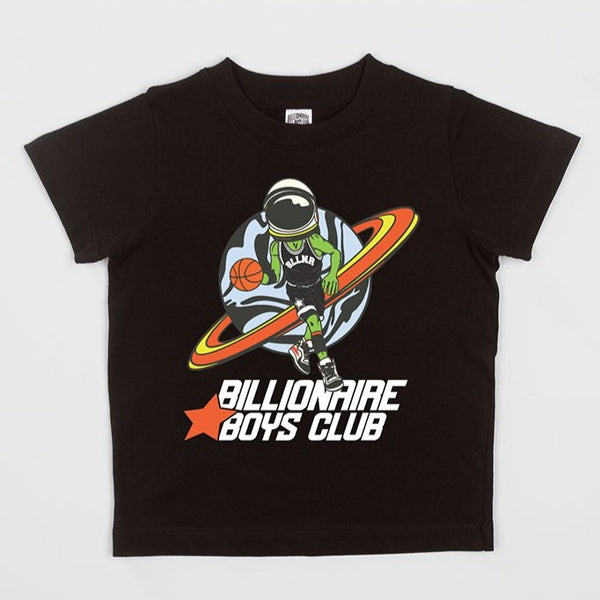 B.B.C Kids-BB Playoffs S/S Tee-Black