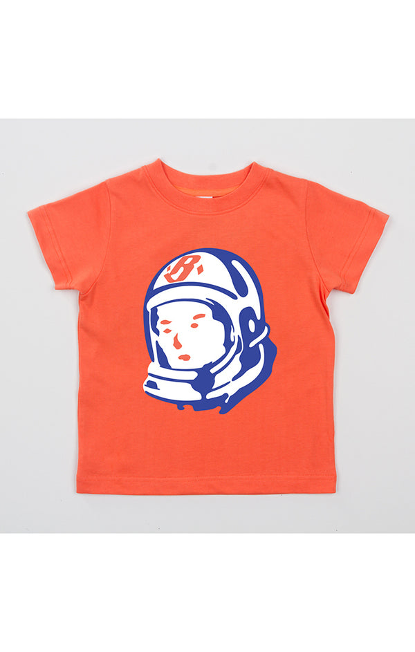 B.B.C Kids-BB Space league S/S Tee-Coral