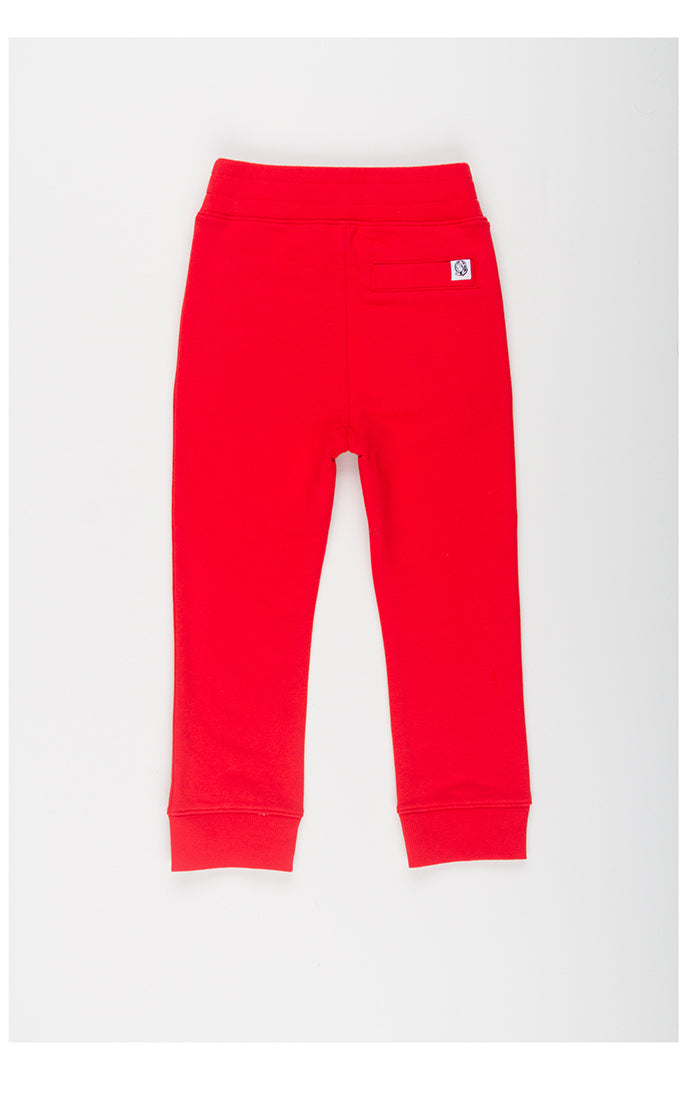 B.B.C Kids-BB Two Tone Jogger-Hibiscus