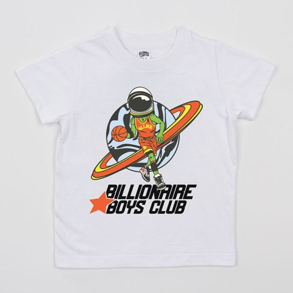 B.B.C Kids-BB Playoffs S/S Tee-White