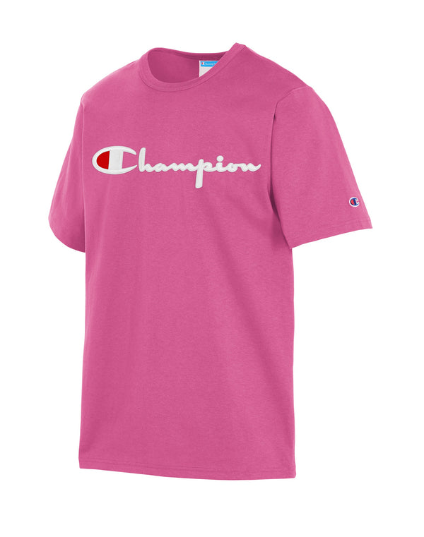 Champion-Heritage Short Sleeve-Parade Pink-GT19Y08252