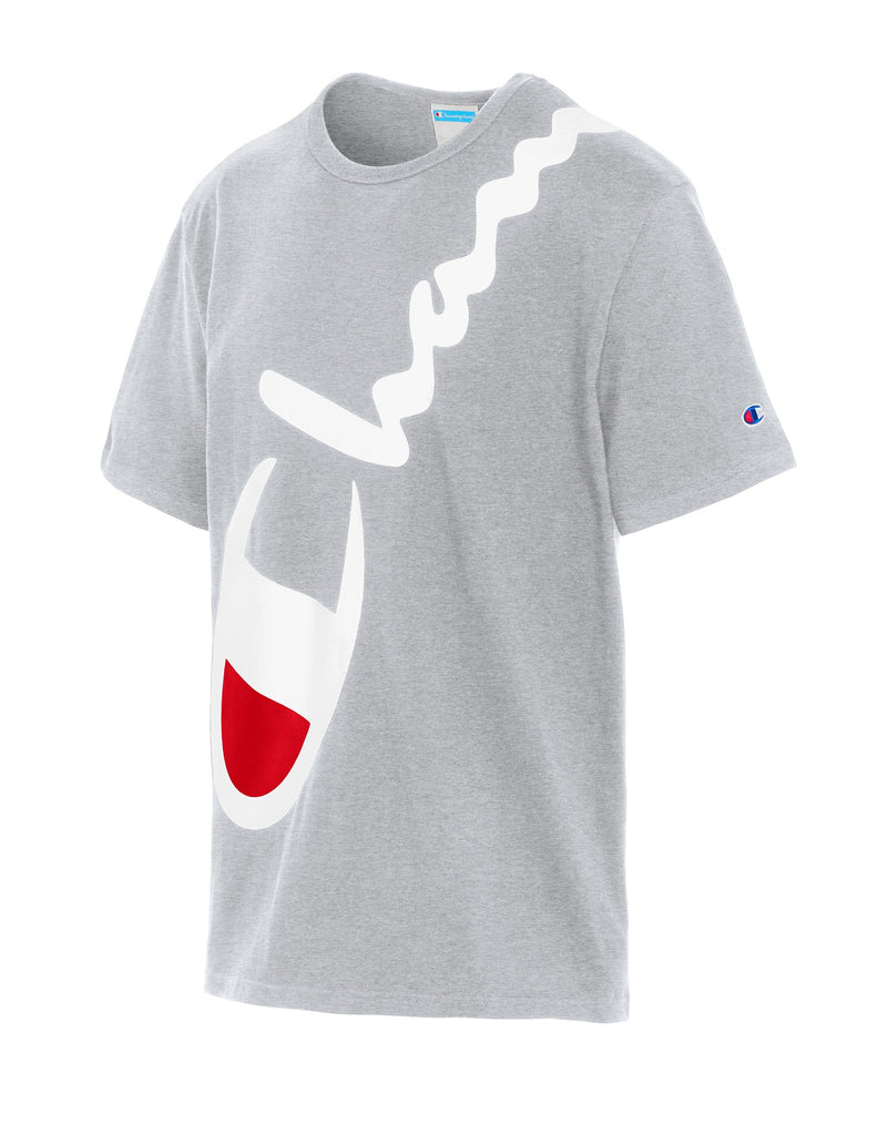 Champion-Heritage Short Sleeve-O.Grey-T1919G550773