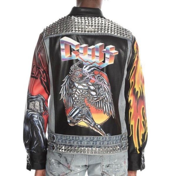 Cult Of Individuality-Type IV Denim Jacket-Maiden-620B8-TS12C