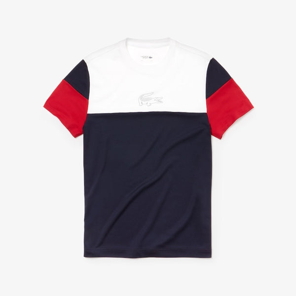 LaCoste-Technnical Piqué-Navy Blue-TH3421