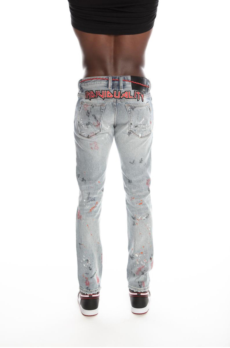 Cult Of Individuality-Rocker Slim Stretch-Maiden-620B8-RS03E