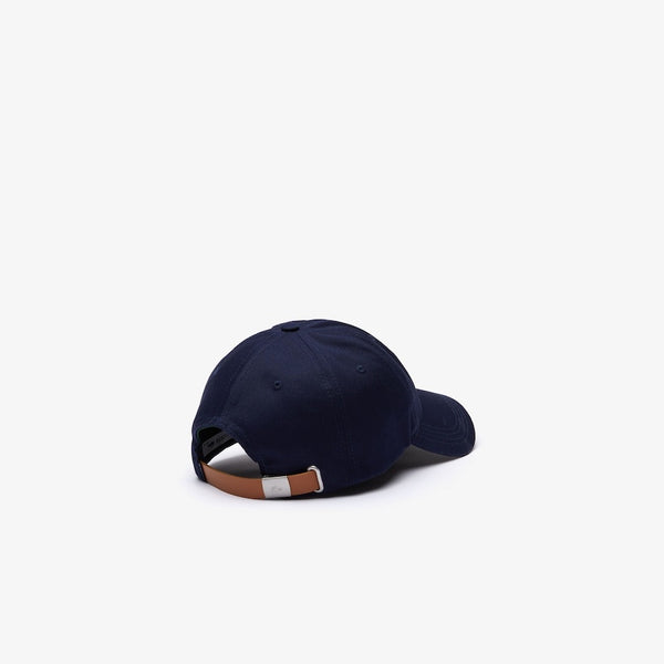 LaCoste-Men's Oversized-Croc Cap-Navy Blue • 166-RK4711-51
