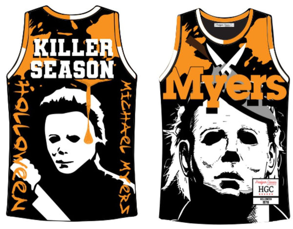 HeadGear-Michael Myers Killer Season Jersey-Black