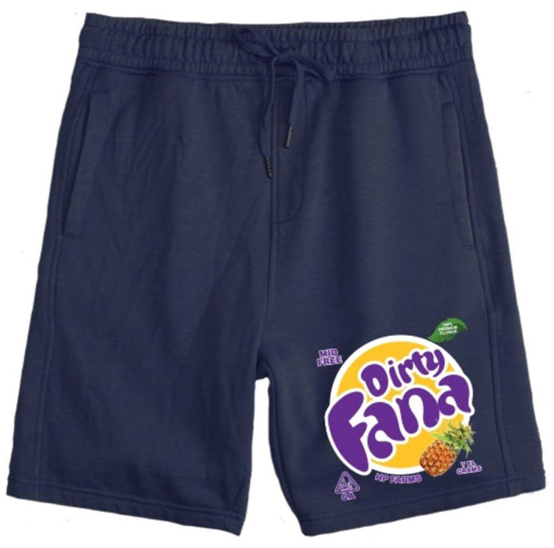Runtz-Dirty Fana Shorts-Navy Blue