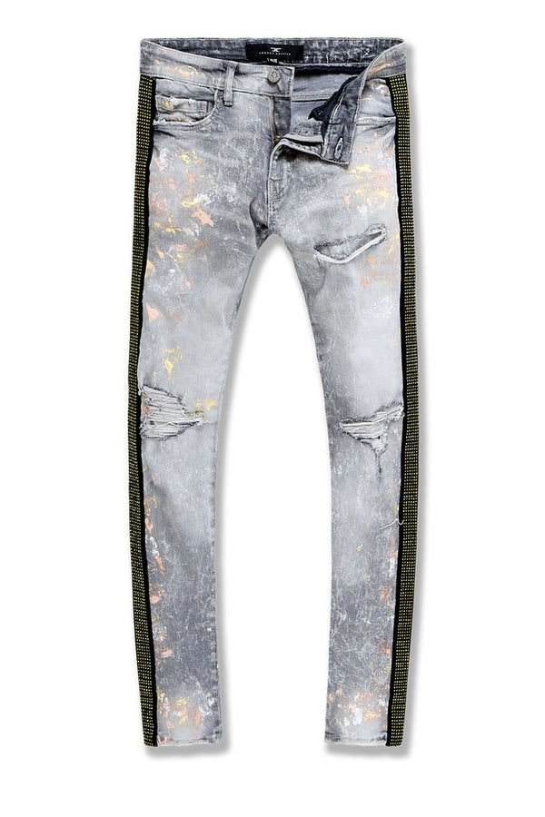 Jordan Craig-Ross-Vegas Striped Denim 2.0-Fog-JM3466