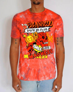Sugarhill-Madness Blaze Tee-Red-SH-TSC-06