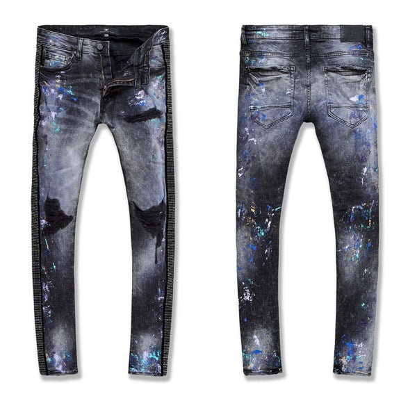 Jordan Craig-Ross-Vegas Stiped Denim 2.0-Dark Raven-JM3466
