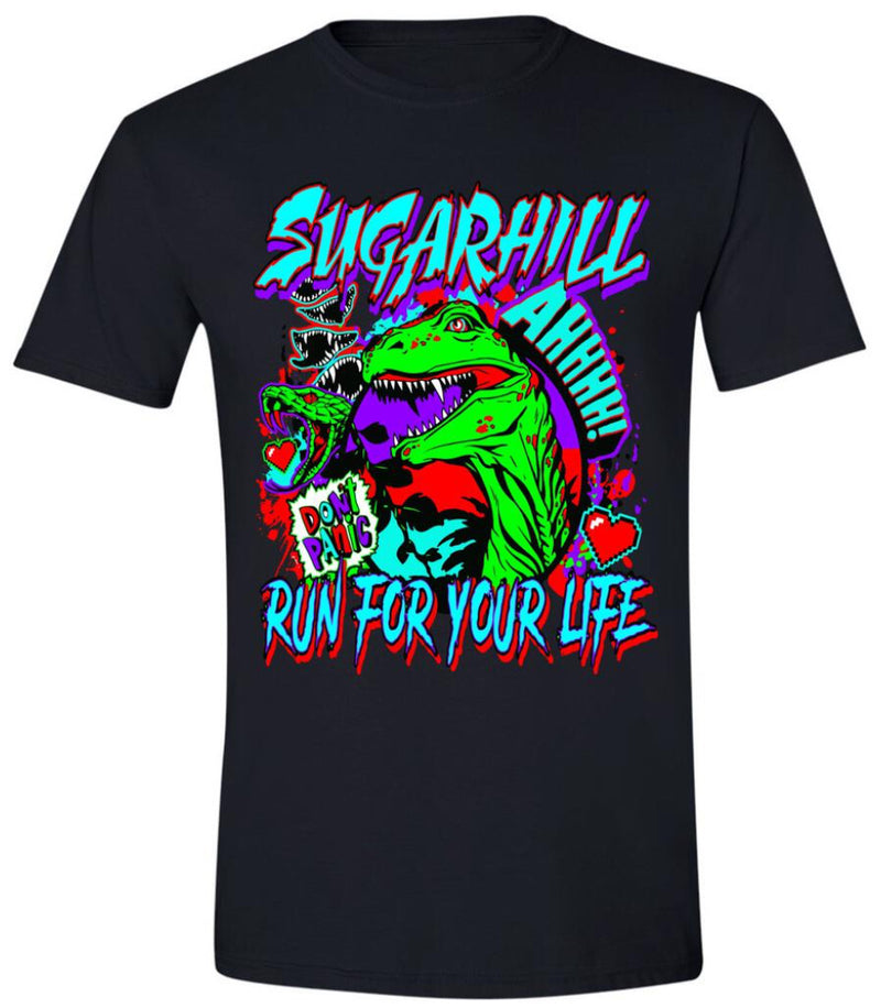 Sugarhill-Reptiles Tee-Black-SH-JUL-21