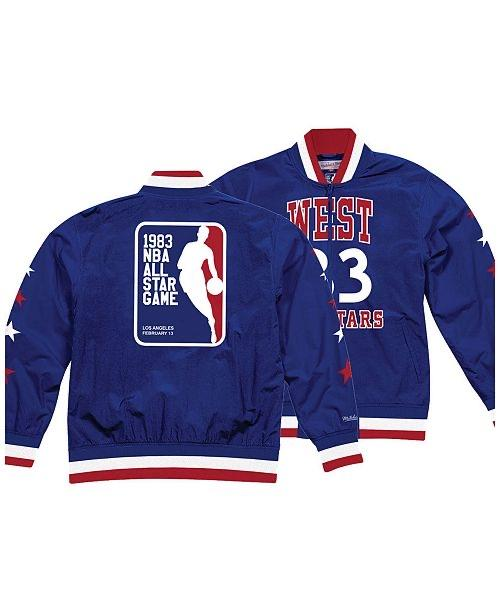 NBA All Star History Warm Up Jacket