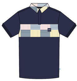 Cookies-South Hampton Pique Polo-Navy