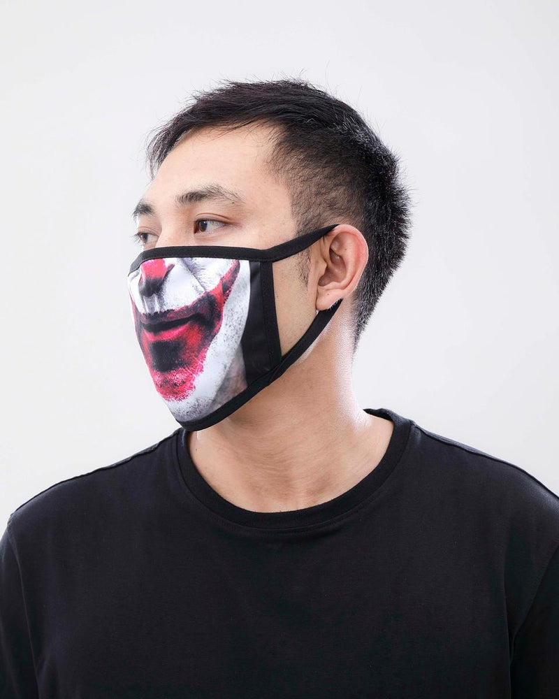 Hudson-Clown Face Masks-Multi-E7133267