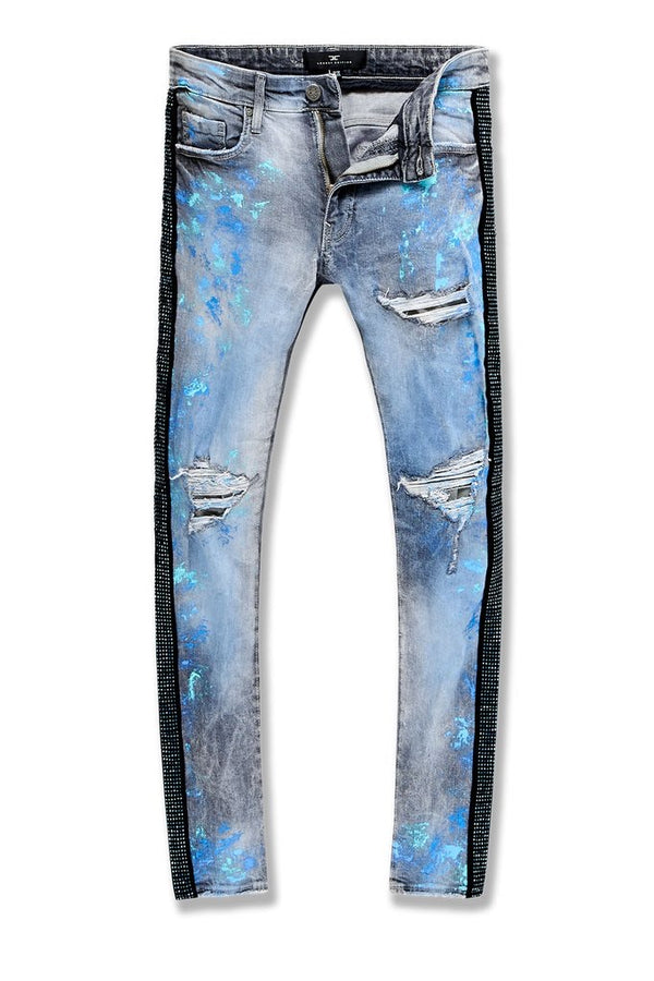 Jordan Craig-Ross-Vegas Striped Denim 2.0-Blue Wave-JM3466