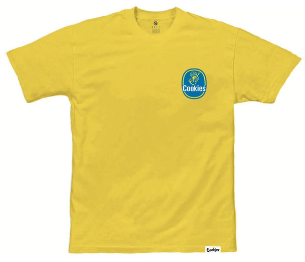Cookies-Grocer Tee-Yellow
