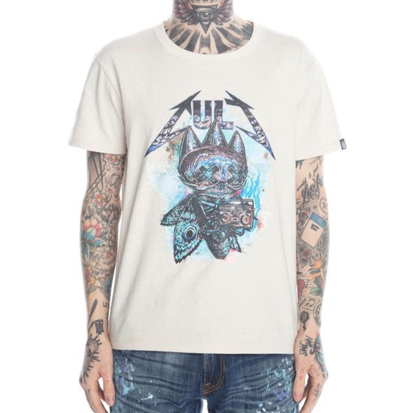 Cult Of Individuality-The Fly Tee-Cream-620B7-K71A