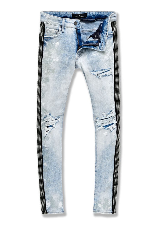 Jordan Craig-Vegas Striped Denim 2.0-Ice Blue-JM3466
