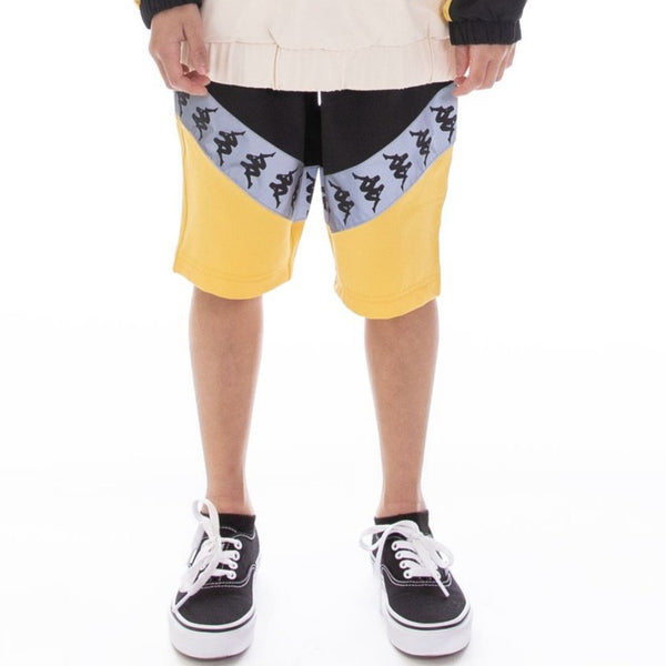 Kappa Kids-222 Banda Amaruc Reflective-Black/Yellow