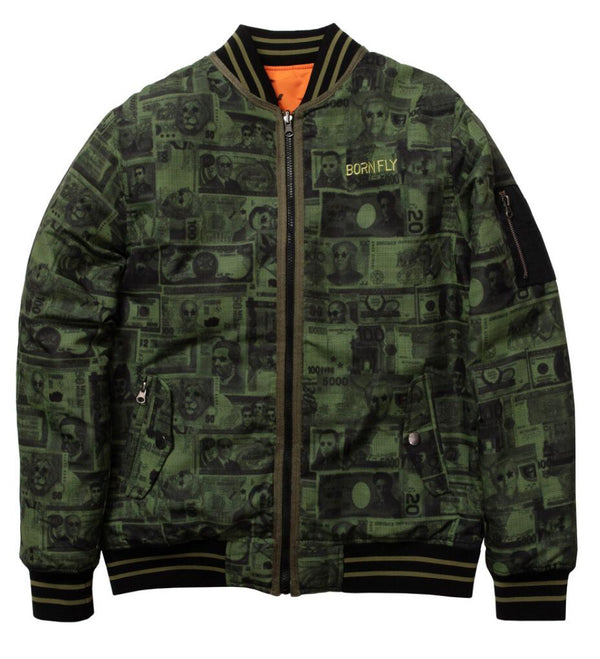 Born Fly-British Pound Jacket