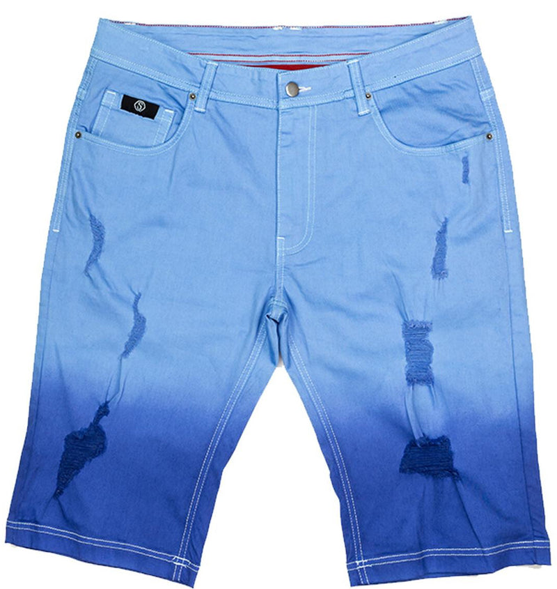 Switch-Did Dyed Shorts-Blue