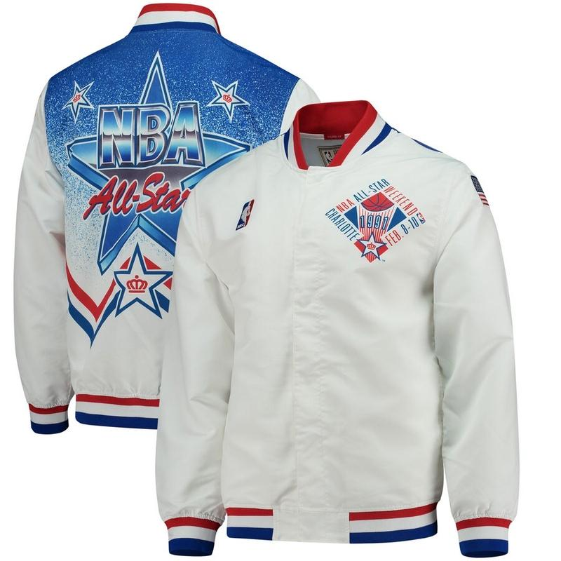 NBA 1991 All Star Warm Up Jacket