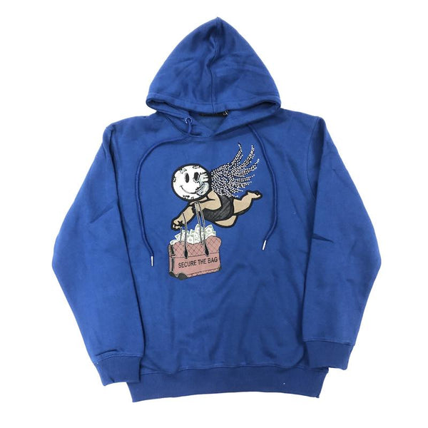 Focus-Secure The Bag Hoodie-Royal