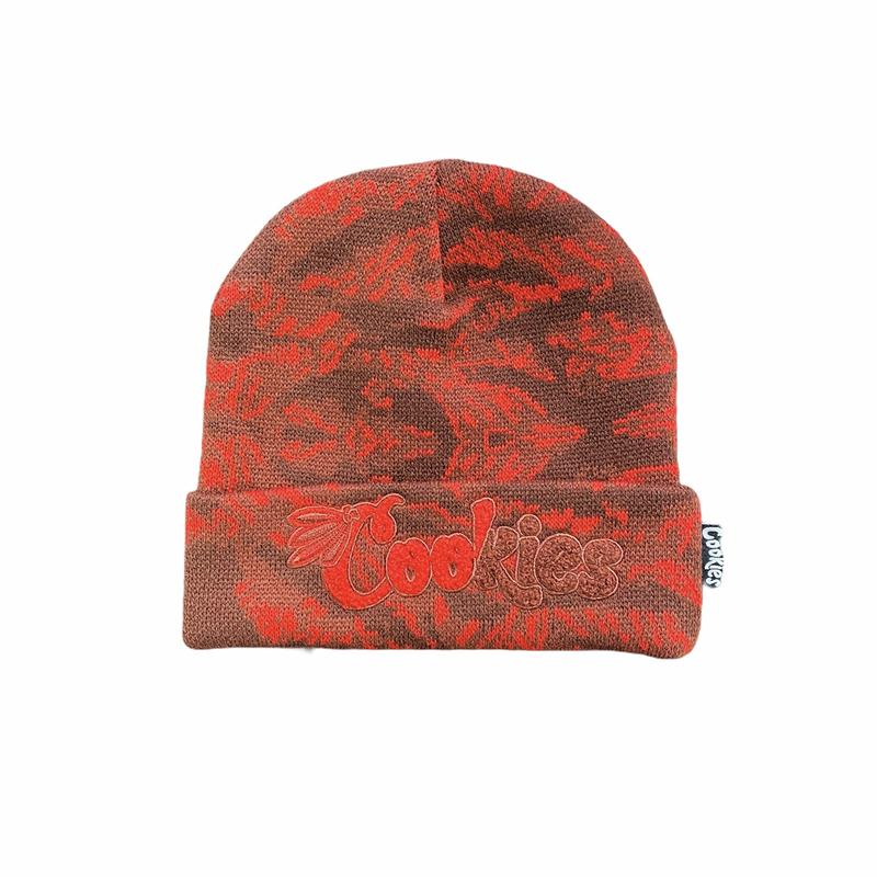 Cookies-Top Of The Key Beanie-Red
