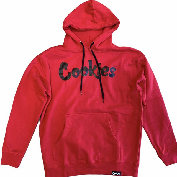 Cookies-Original Mint Fleece Hoodie-Red/Black