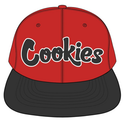 Cookies-Pylon Twill Two Tone-Red/Black