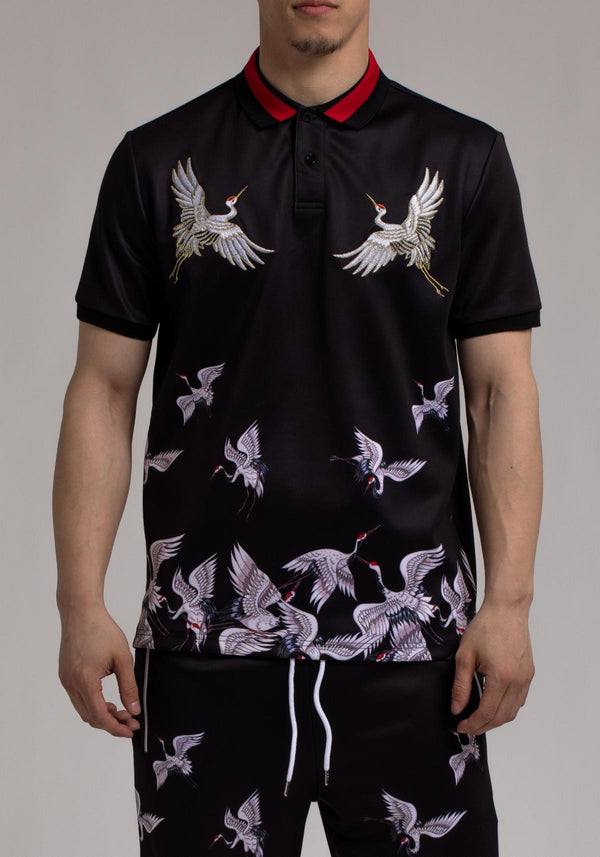 Eternity-Crane Polo Fit-Black-E1130190