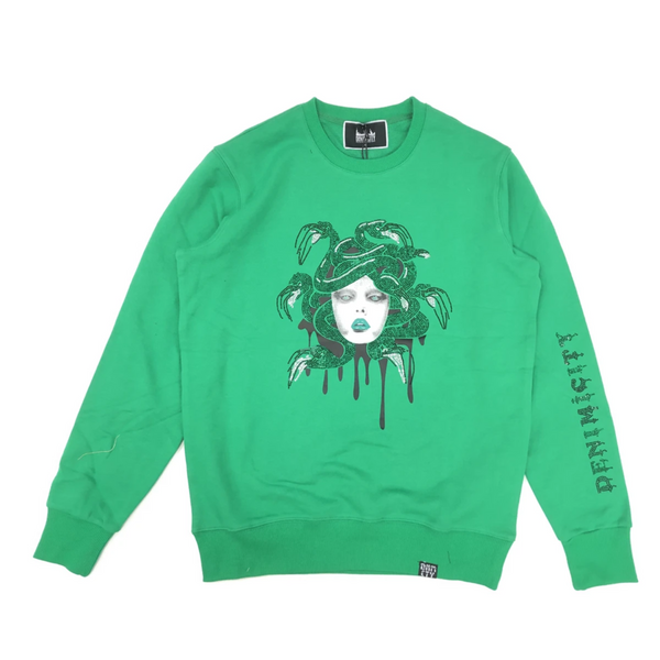 Denimicity-Medusa Sweater-Green