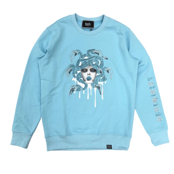 Denimicity-Medusa Sweater-Baby Blue