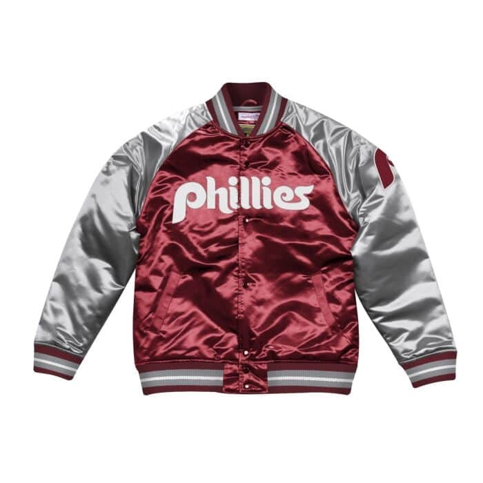 Tough Season Satin Jacket Philadelphia Phillies