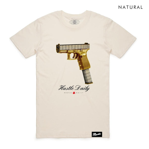 Hasta Muerte-Gold Glock-Natural