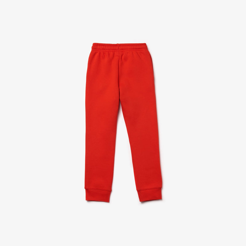 lacoste Kids-Boys' Sport Fleece Sweetpants-Red-XJ9476