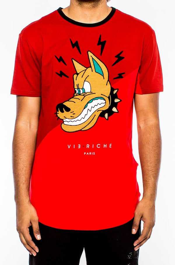 Vie Riche-Angry Dog-Red-V1071024