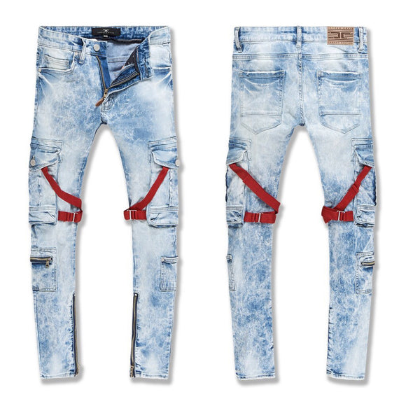 Jordan Craig-Ross-Deadwood Cargo Denim-Ice Blue-JM3526