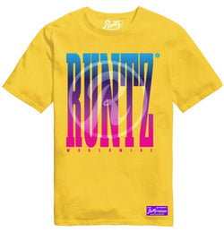 Runtz-Multi Runtz Tee-Yellow