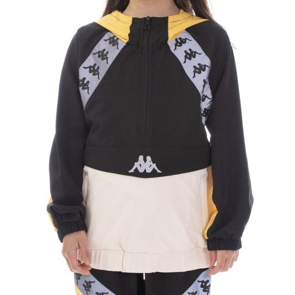 Kappa Kids-222 Banda Afien Reflective-Black/Yellow