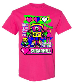 Sugarhill-Game Tee-Pink