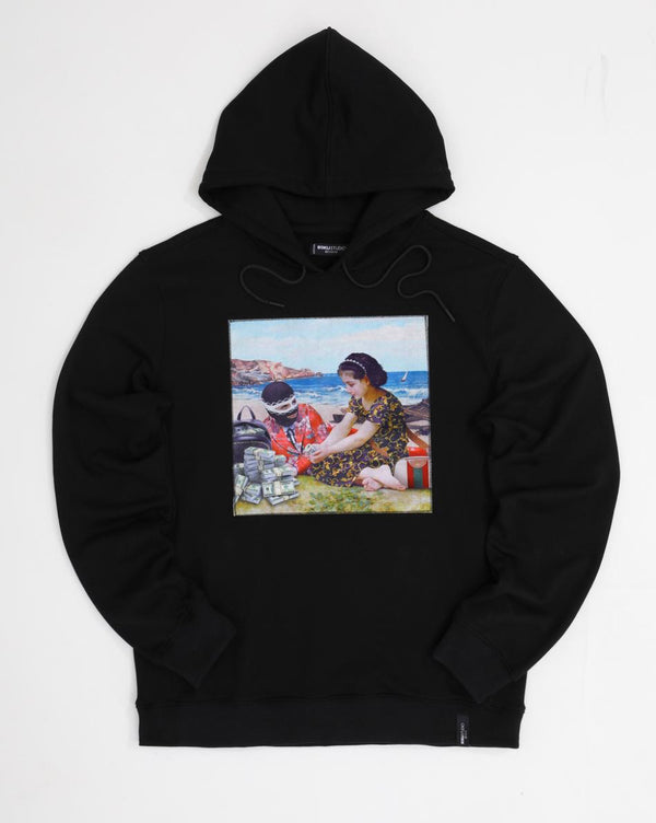 Roku Studio-Children Trap Hoody-Black