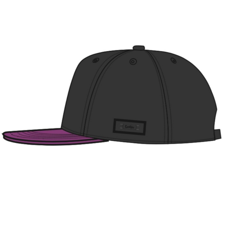 Cookies-Pylon Twill Two Tone-Black/Purple