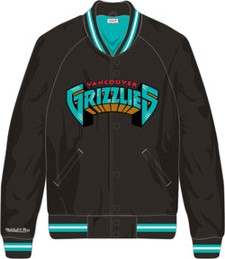 Mitchell and Ness- Vancouver Grizzlies Lightweight Satin Kids Jacket