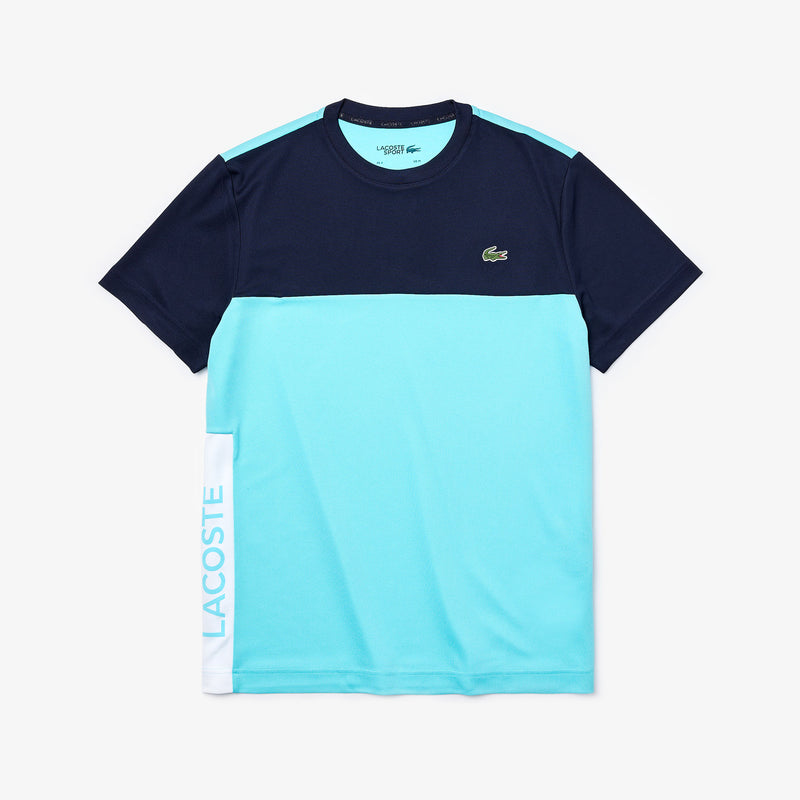 LaCoste-SPORT Colorblock Performance-Navy/Turquoise-TH4856
