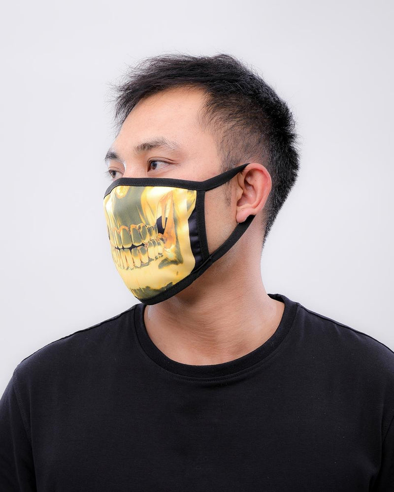 Hudson-Gold Teeth Mask-Gold-E7133266