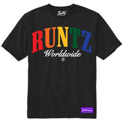 Runtz-Multi WorldWide Tee-Black